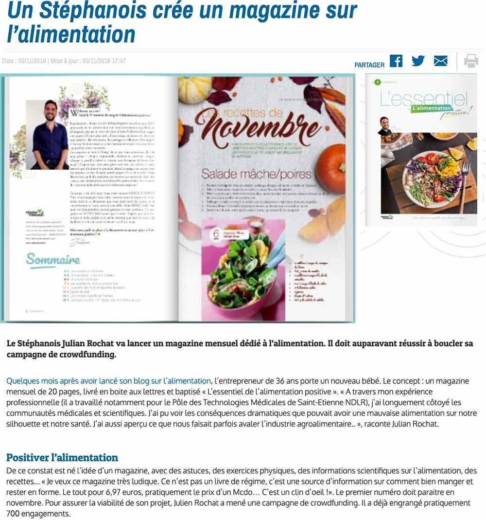 Article Zoom d'ici
