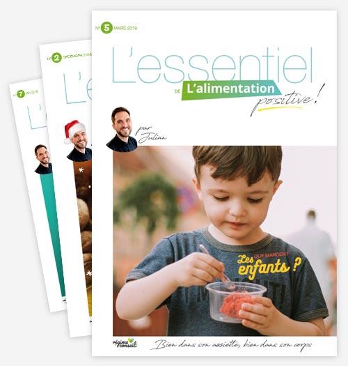 Abonnement au magazine L'Essentiel de l'alimentation positive