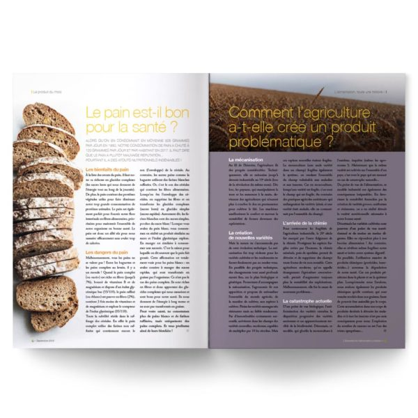 L'Essentiel de l'alimentation positive – Spécial pain et boulangerie
