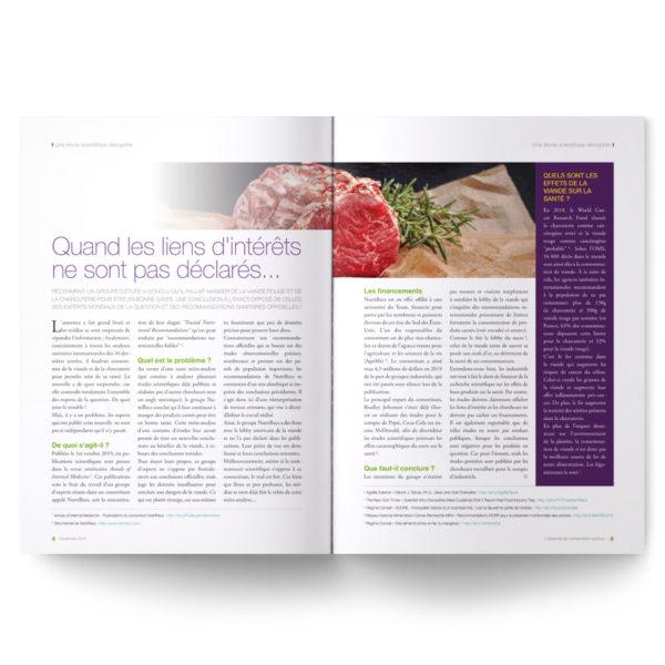 Numéro 13 anniversaire : la viande est-elle dangereuse pour la santé ?
