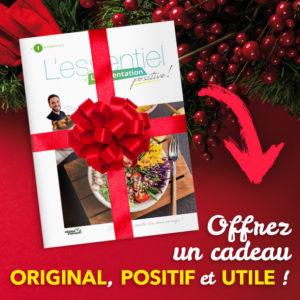 Abonnement cadeau pour Noël positif, original et utile