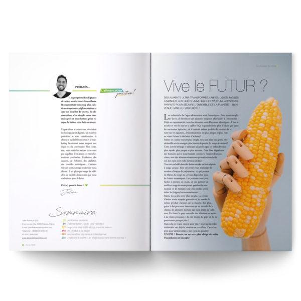 L'Essentiel de l'Alimentation Positive – L'alimentation à l'heure industrielle. La foodtech et l'industrialisation des process sont-elles sans conséquences sur la santé ? Vive le futur ?