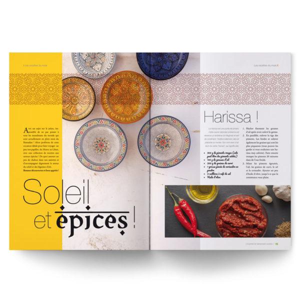 Magazine L'Essentiel de l'alimentation positive – Spécial recettes orientales du Maghreb