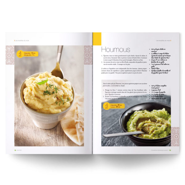 Magazine L'Essentiel de l'alimentation positive – Recettes d'Afrique du Nord