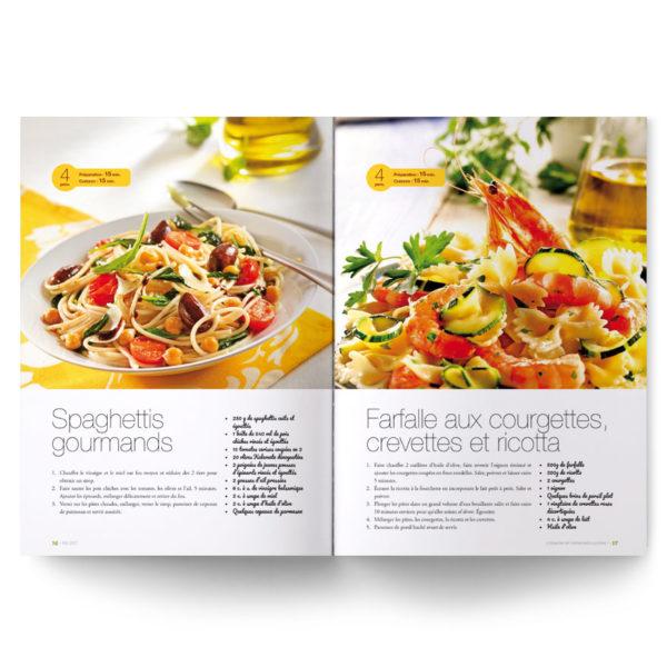 Revue sur l'alimentation santé dédiée aux pâtes !